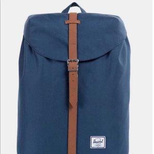 Herschel supply navy backpack